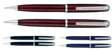 סט רומאו, עט כדורי ועיפרון מכני ווייב מתכת אריזת מתנה