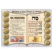 הגדת השבטים, 64 עמוד עברית/ספרדית כריכה רכה סיכות